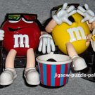 M&M's Candy Dispenser At the Movies Yellow Red Rare Black Seats Variant + Blue Version NIB