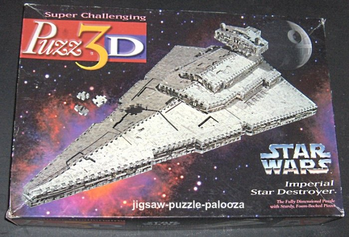 Sold Puzz3d Jigsaw Puzzle Star Wars Imperial Star