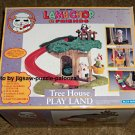 Lamb Chop & Friends Tree House Play Land Playset Shari Lewis Blue-Box Toys COMPLETE
