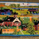 Hometown Collection 1000 Piece Jigsaw Puzzle - Kite Flying at Recess - Heronim - COMPLETE