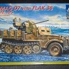 Italeri Demag D7 with Flak 38 SD.KFZ. 10/5 1:35 Scale Plastic Model Kit 371 SEALED