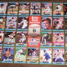 Nolan Ryan Career Series Baseball Card Poster - Donruss - Coca Cola - Coke - 1992
