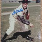 Bob Feller Signed Autographed 8x10 Color Photo Cleveland Indians