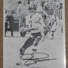 Joe Theismann Signed / Autographed 8x10 B/W Action Photo - Washington Redskins