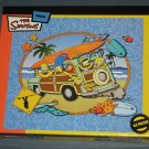 The Simpsons Lot of Four 50 Piece + One 63 Piece Puzzle Surfari Dinner with Dad Bart SK8 Half Pipe
