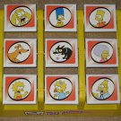 The Simpsons Toss Across Tic-Tac-Toe Game Homer Bart Lisa Maggie Marge