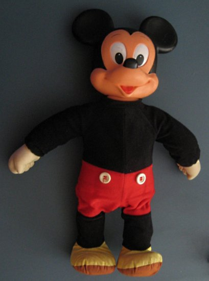 Sold 18 Quot Walking Mickey Mouse Doll Hasbro Walt