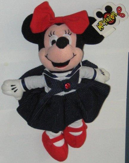 Minnie Mouse July Ruby Birthstone Bean Bag Plush Doll - Mouseketoys