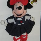 Minnie Mouse July Ruby Birthstone Bean Bag Plush Doll - Mouseketoys