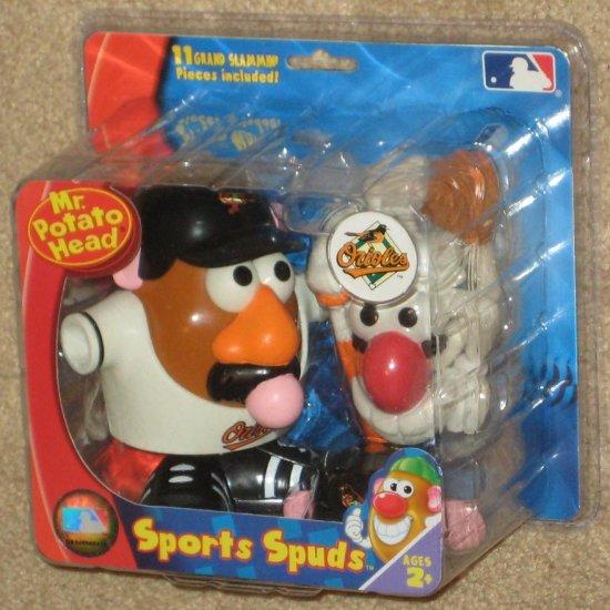 SOLD Sports Spuds - Mr Potato Head - Baltimore Orioles - O's - MLB Series - Hasbro - NIP