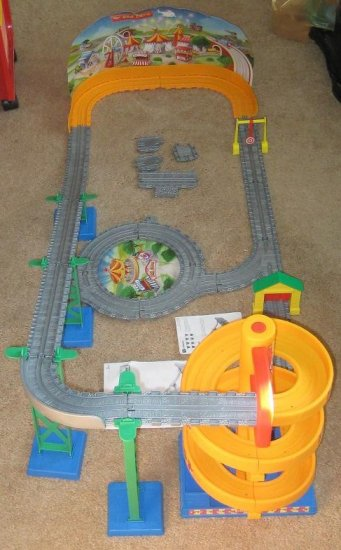 SOLD - Thomas & Percy's Carnival Adventure Playset - Friends - Train - Tank Engine - Take Along