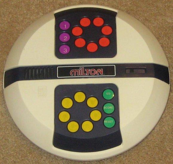 SOLD - Vintage Electronic Talking Milton Game - 1980 -  Bradley -Whoop-de-doo - 4043 - MB