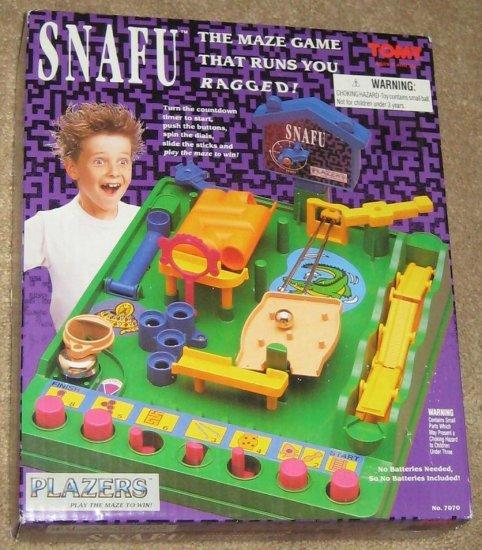 SOLD - Snafu Maze Game - Tomy - 7070 - Plazers