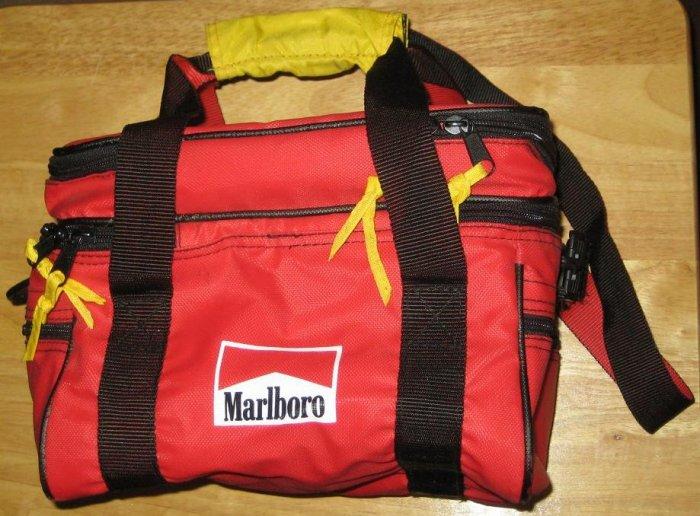 SOLD Marlboro Cigarettes Soft-Sided Insulated Beer / Beverage Cooler / Bag