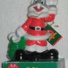 Bugs Bunny Holiday Figurine Light - Santa - Looney Tunes - Warner Bros - WB - 1997