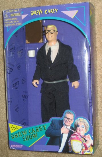 SOLD - The Drew Carey Show Doll - 1998 - New in Box