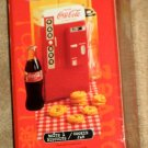 Coca-Cola Gibson Vending Machine Cookie Jar - Coke - NIB - NEW in Box - 2001