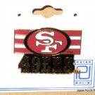 San Francisco 49ers Logo Lapel Team Pin - NFL - Peter David - Football
