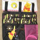 Winnie the Pooh Chair Organizer Beach Disney Black NEW