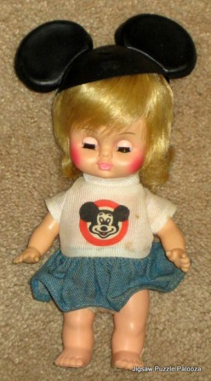 Walt Disney Mickey Mouse Club Show Mousketeer Doll - Horsman Dolls - 1971 - Blonde