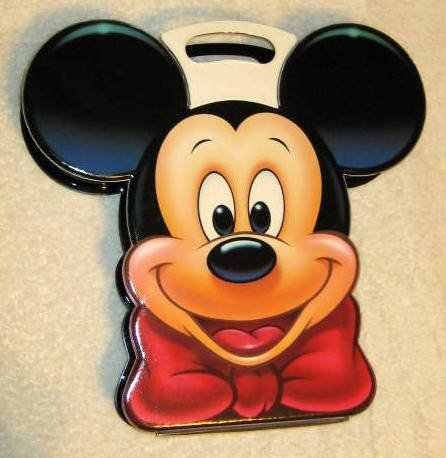 Mickey Mouse Cassette Tape Holder / Carrying Case - Disney
