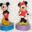 Mickey & Minnie Mouse Figure Ink Stampers / Stamps - Applause