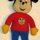 Mickey Mouse Club 15 Inch Plush Doll - Knickerbocker - Walt Disney Productions