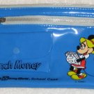 Minnie Mouse Vinyl Blue Pencil / School Case - Walt Disney World Lunch Money
