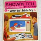 Margery Daw's Birthday Party 1967 General Electric Show'N Tell Picturesound Program Record ST-203