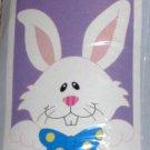 Peek a Boo Bunny Decorative Applique Garden Flag 28 x 40 Polyester New NIP Life's a Breeze