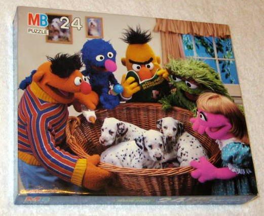 SOLD Sesame Street 24 Piece Jigsaw