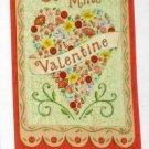 Be Mine Valentine Decorative Artist's Touch Garden Flag 25.5 x 38 Polyester New NIP Valentine's
