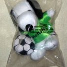 Snoopy 5 Inch Joe Cool + Soccer Player Plush MetLife Met Life Peanuts Gang SEALED