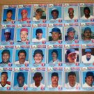 Chef Boyardee 1st Annual Collector's Edition Baseball Cards Uncut Sheet 1988 Ripken Puckett Schmidt