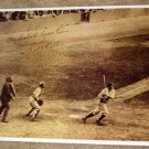 Babe Ruth 60th Home Run 11 x 14 Sepia Photo Print 60 Runs Record New York Yankees MLB Baseball