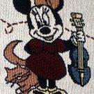 Mickey & Minnie Mouse Nursery Rhymes Throw Blanket Quilt Tapestry Disney 24333 Baby NIP