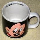 Mickey & Minnie Mouse Face Ceramic Coffee Mug Walt Disney Black Applause 33420