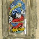 Mickey Mouse Walt Disney World McDonald's 2000 Drinking Glass Epcot Celebration Fantasia