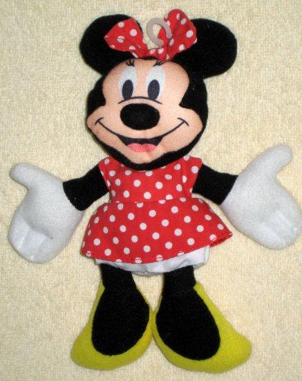 Plush 7 Inch Minnie Mouse Beanbag Doll Applause Bean Bag Walt Disney