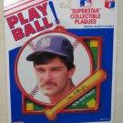 Don Mattingly Play Ball Superstar Collectible Plaque Tara Toy Corp New York Yankees MLB NIP