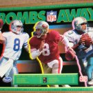 NFL 1992 League Leaders Poster Set of 5 Football Frito Lay Ocean Spray Aikman Marino Rice Sanders