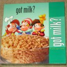 Snap Crackle Pop Kelloggs Rice Krispies Cereal Got Milk 550 Piece Jigsaw Puzzle 2328-2  SEALED 2000