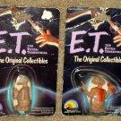 ET The Extra Terrestrial Plastic PVC Figure Lot Vintage LJN Figures + 2 Wendy's Jigsaw Puzzles