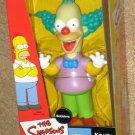 The Simpsons Krusty the Clown Bobbler Doll Bobblehead Bobble Head Nodder Playmates 2002 NIB