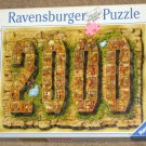 Milestones in World History 1000 Piece Jigsaw Puzzle Millenium Year 2000 Ravensburger Complete