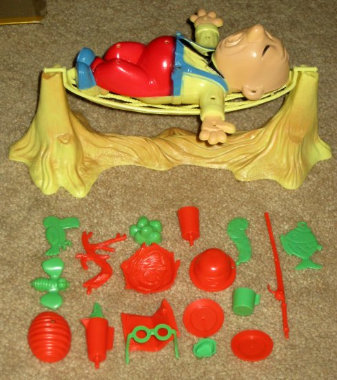 SOLD Vintage 1968 Tiltin Milton Balancing Game Ideal Toy Corp 2352-3