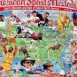 SOLD American Sports History 1000 Piece Jigsaw Puzzle Museums Hall Fame Ruth Petty Nicklaus SEALED