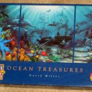 Ocean Treasures 1500 Piece Jigsaw Puzzle + Tropical Treasures 500 Masterpieces David Miller COMPLETE