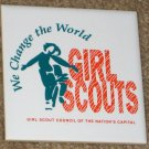 Girl Scouts of America Ceramic Coaster Council of the Nation's Capital GSA