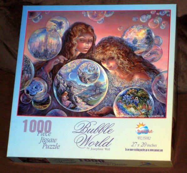 Sold Bubble World 1000 Piece Jigsaw Puzzle Sunsout Wl35082